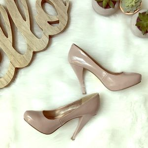 Express Nude Heels size 6